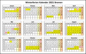 Wann Sind Die Sommerferien Bremen 2021