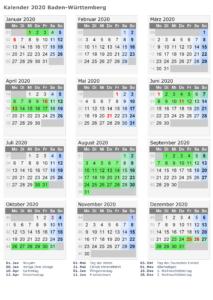 Wann Sind Die Sommerferien Baden-Württemberg 2020?