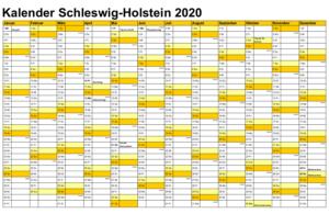 Wann Sind Die Sommerferien Schleswig-Holstein 2020?