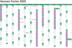 Wann Sind Die Sommerferien Hessen 2020?