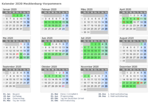Wann Sind Die Sommerferien Mecklenburg-Vorpommern 2021?